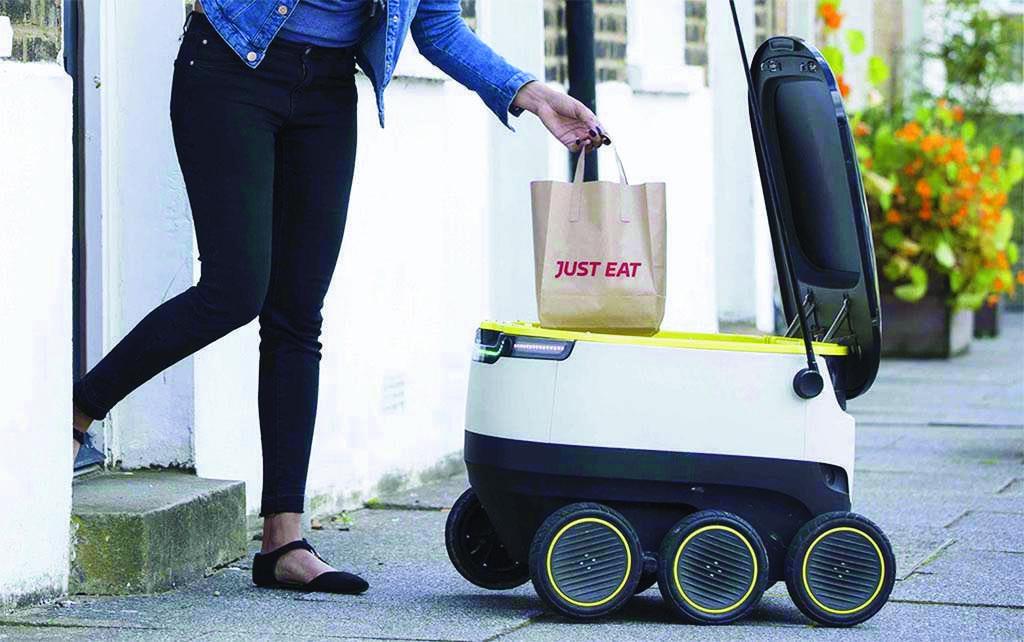 Face à la pandémie, les robots-livreurs à la conquête des États-Unis