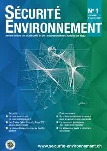 Couverture Revue Sécurité Environnement N° 1