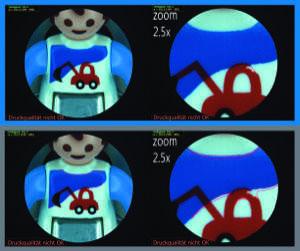 Flexibles Universaltool für die automatische optische Druckbildinspektion